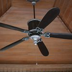 outdoor ceiling fan cleaning